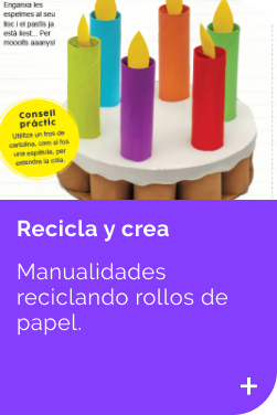 recicla y crea keep